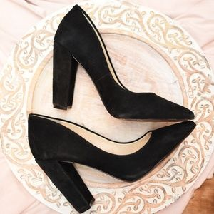 Jessica Simpson Pointed Toe Pumps Black Size 6.5